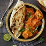 Butter Chicken with roti